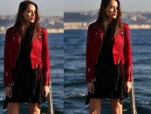 Çukur 2. bölüm Kıyafetleri Sena siyah elbise markası araştırılıyor.