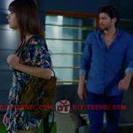 Dolunay Nazlı kıyafetleri Dolunay 7. bölümde Nazlının giydiği mavi elbise Boyner Freş marka