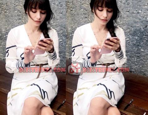 Dolunay Nazlı Kıyafetleri 9-10-11. Bölümler Dolunay Nazlı Beyaz Elbise Trendyol